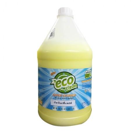 น้ำยาปั่นเงาพื้น เปรย์ #18 ECOCLEAN 3.8L
