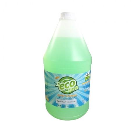 น้ำยาล้างห้องน้ำ 15 ECOCLEAN3.8L สีเขียว