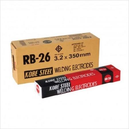 ลวดเชื่อมไฟฟ้า 3.2มม.  RB26 KOBE