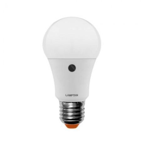 หลอดไฟ LED LIGHT SENSOR 7W WarmWhite LAMPTAN