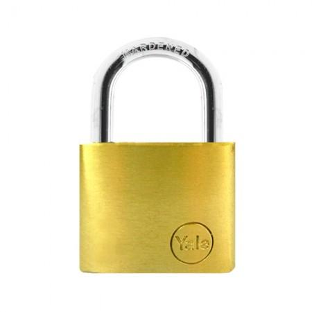 กุญแจคล้อง 60มม. YE60 YALE ทองเหลืองแท้