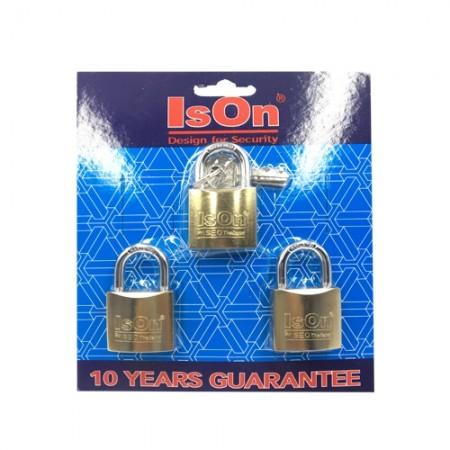 กุญแจชุด Key Alike 32มม. ISEO 3ตัวชุด