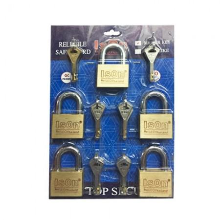 กุญแจชุด Master Key 50มม. ISEO 5 ตัวชุด