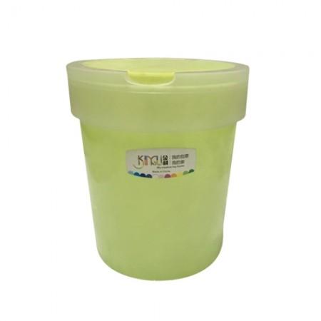 ถังขยะพลาสติกเนื้อใสฝากดเปิด L38973 COSTO