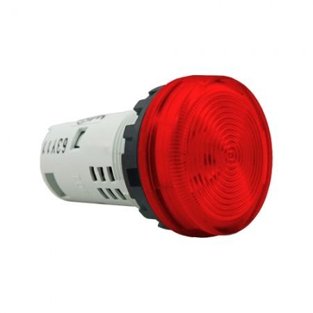 ไพล็อตแลม22มมLED YW1P-1UQM3/220Vสีแดง IDEC