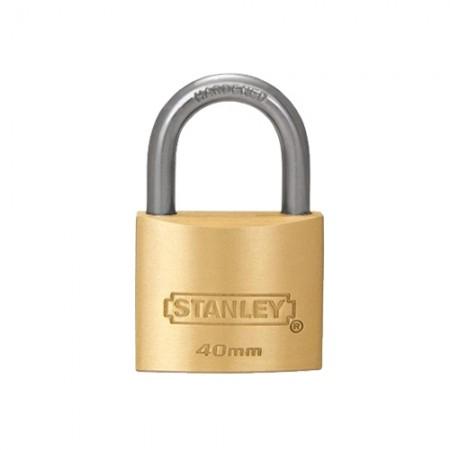 กุญแจทองเหลือง S824-654 40มม STANLEY