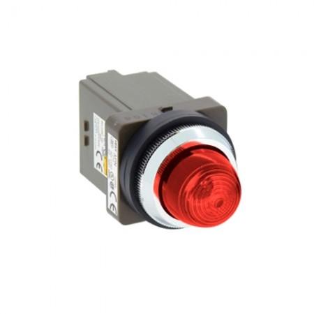 ไพล็อตแลม 30มม LED APN126-R สีแดง IDEC