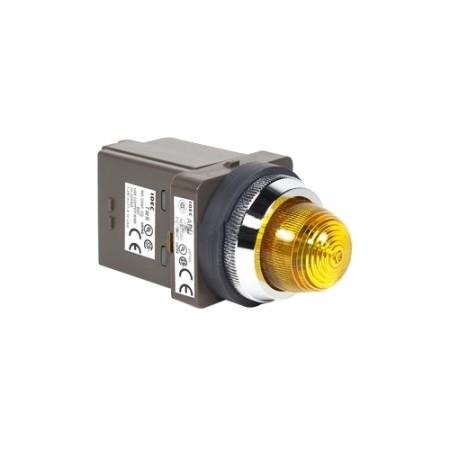 ไพล็อตแลม 30มม LED APN126-Yสีเหลือง  IDEC