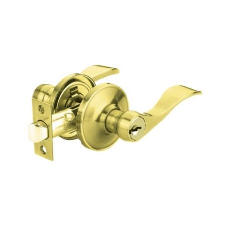 กุญแจมือจับ สีทองเหลืองเงา VL5317 US3 YALE