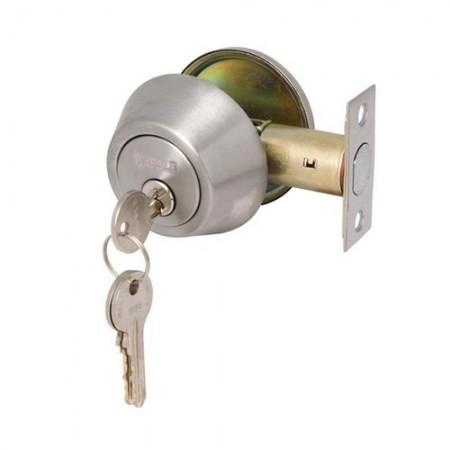 กุญแจลิ้นตายทางเดียว สีเงิน 911.22.395 HAFELE