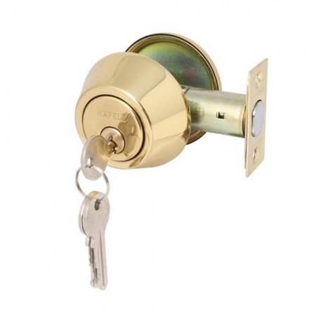 กุญแจลิ้นตายทางเดียว ทองเหลือง 911.22.396 HAFELE