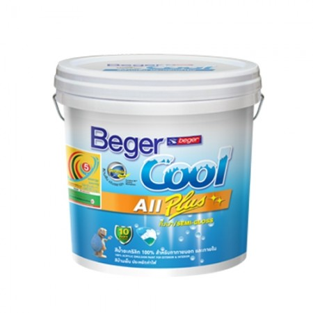 สีน้ำภายใน เบเยอร์คูล ออลพลัสD BEGER 2.5