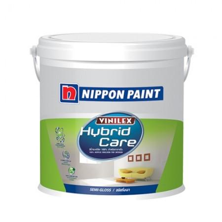 สีน้ำภายใน C ไฮบริดแคร์ กึ่งเงา NIPPON 2.5