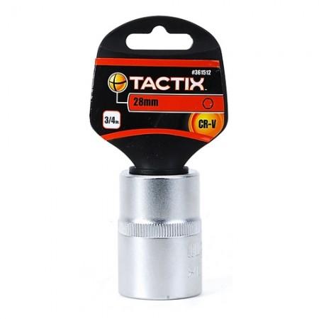 ลูกบล็อก 6P 3/4 361512 28มม. TACTIX
