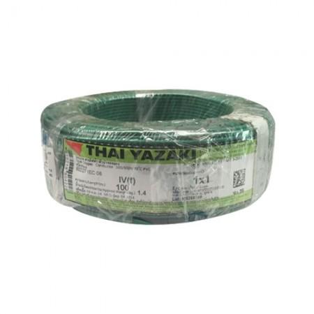 สายคอนโทรล (IEC 06 IV) 1*1.0 YAZAKIเขียว
