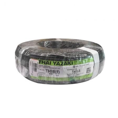 สายคอนโทรล IEC02THW(f) 1*2.5 YAZAKI ดำ