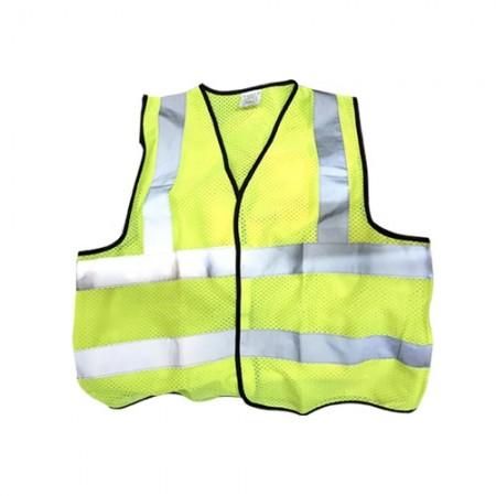 เสื้อจราจรสะท้อน นิ่ม-002-L EAGLE เขียว