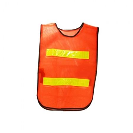 เสื้อจราจร สะท้อนแสง 2แถบ  HS782 EAGLE