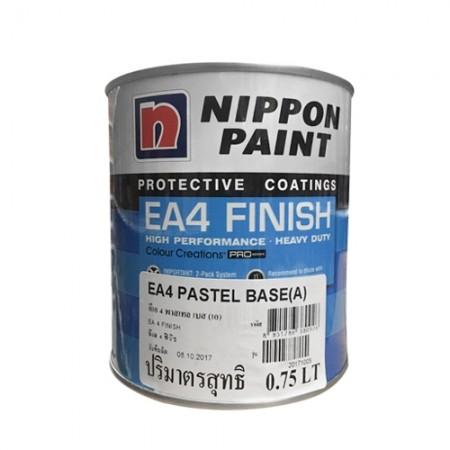 สี PU Recoat Pastel(A) NIPPON 1LA+B เงา