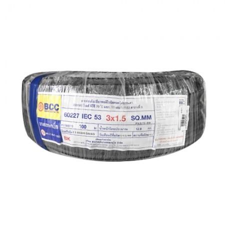สายไฟ (IEC 53 VCT) 3*1.5มม. BCC