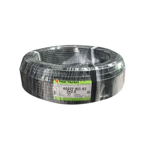 สายไฟ (IEC 53 VCT) 3*2.5 มม 100ม. YAZAKI