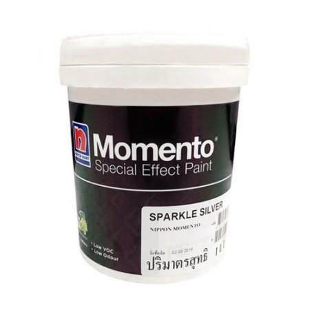 สีสร้างลายโมเมนโต้เบสsparklesilverNIPPON