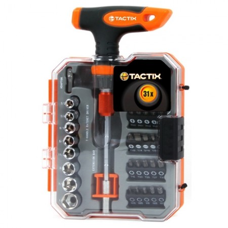 ด้ามฟรีตัวT+อุปกรณ์900984 31ตัวTACTIX