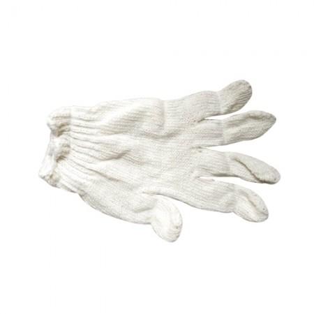 ถุงมือผ้า ไม่ฟอก 4ขีด ขอบขาว