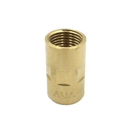 ข้อต่อตรงทองเหลือง .1/2 ANA SOC142-015