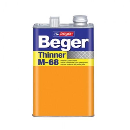 ทินเนอร์อีพ็อกซี่ M68 BEGER