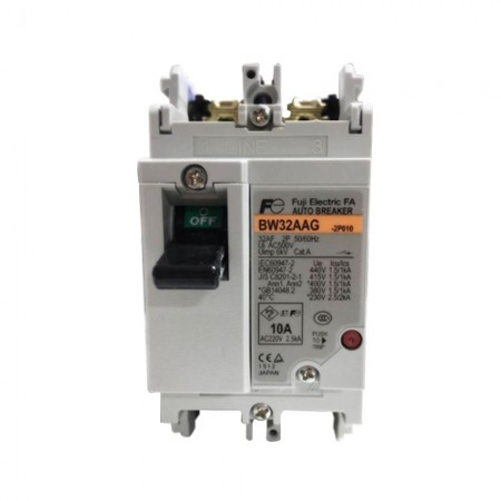 เบรคเกอร์ไฟฟ้า 2P10A BW32AAG FUJI