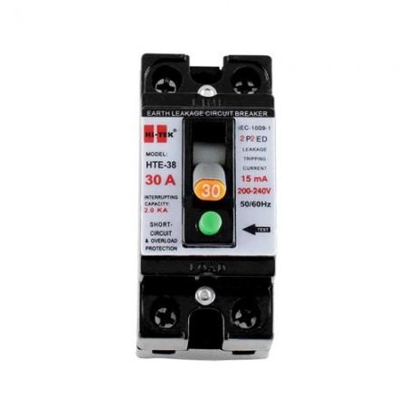 เบรคเกอร์ไฟฟ้า 2P30A HI-TEK สีดำ