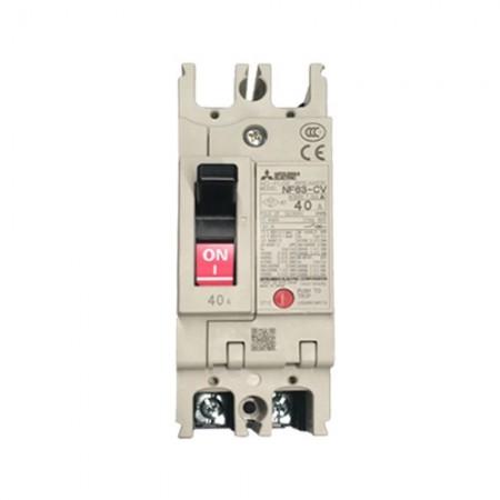 เบรคเกอร์ไฟฟ้า 2P40A MITSUBISHI NF63CV