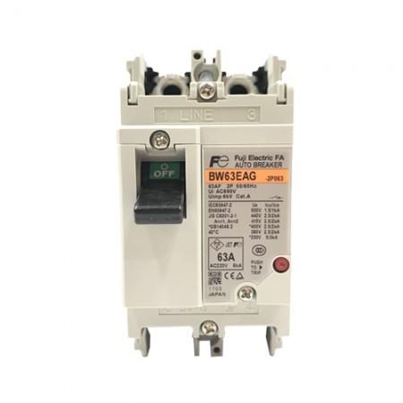 เบรคเกอร์ไฟฟ้า 2P63A  BW63EAG FUJI