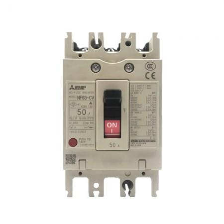 เบรคเกอร์ไฟฟ้า 3P50A  NF63CV MITSUBISHI