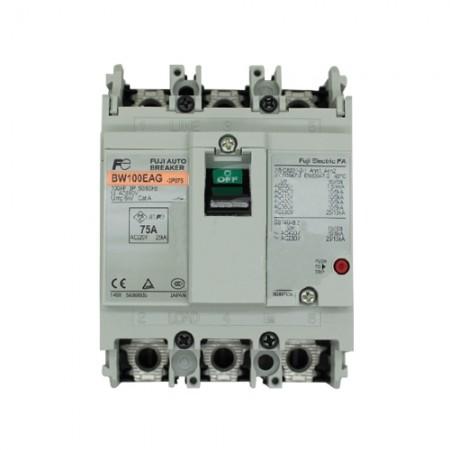 เบรคเกอร์ไฟฟ้า 3P75A FUJI BW100EAG