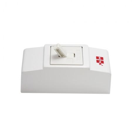 เบรคเกอร์ไฟฟ้า+กล่อง 2P15A HI-TEKขาว