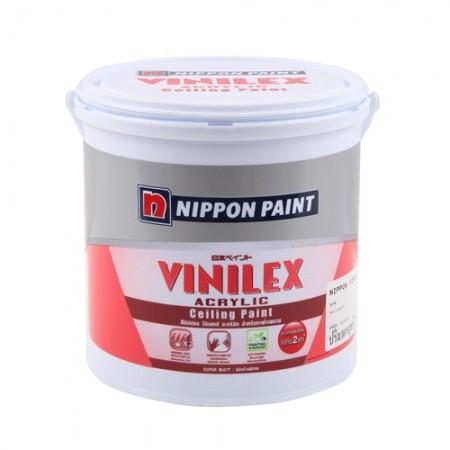สีทาฝ้า วีนิแลกซ์ T777 NIPPON สีขาว 1GL