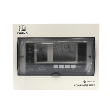 ตู้คอนซูมเมอร์ +เมน 4ช่อง 32A ST-4 CHANG