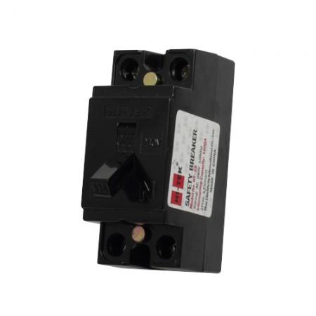 เบรคเกอร์ไฟฟ้า 2P10A HI-TEK สีดำ