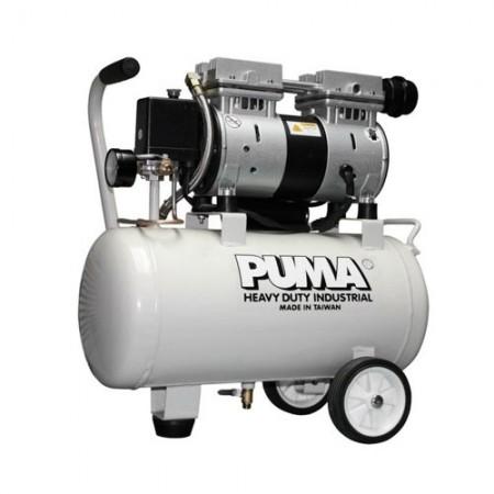 ปั๊มลม มาตรฐานญี่ปุ่น แบบไร้น้ำมัน25L PUMAOS-25 1/2HP2P