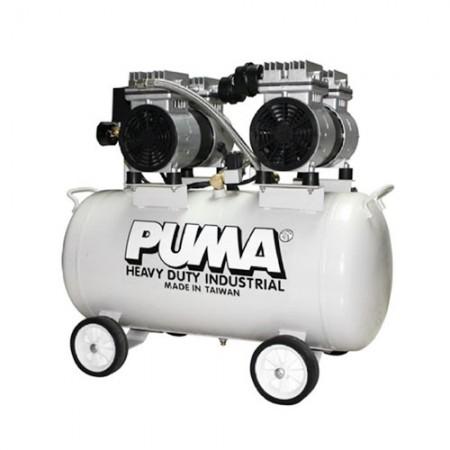 ปั๊มลม มาตรฐานญี่ปุ่น แบบไร้น้ำมัน 50L PUMA OS-50 1HP2P