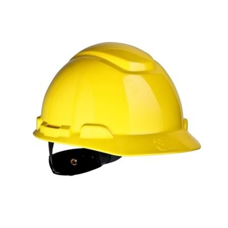 หมวกนิรภัย ปรับหมุน H-702R 3Mเหลือง