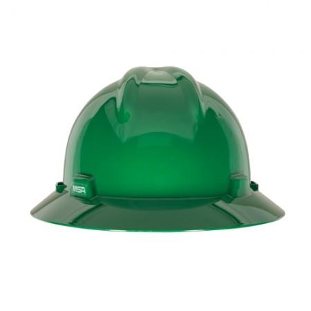 หมวกนิรภัยหมุน475370 USA V-GARDเขียว MSA