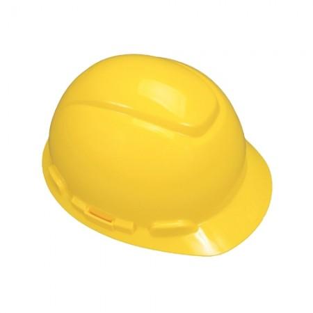 หมวกนิรภัย ปรับเลื่อน H-702P 3Mเหลือง