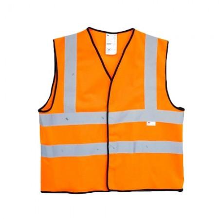เสื้อจราจรส้ม แถบสะท้อนแสง 2925, M