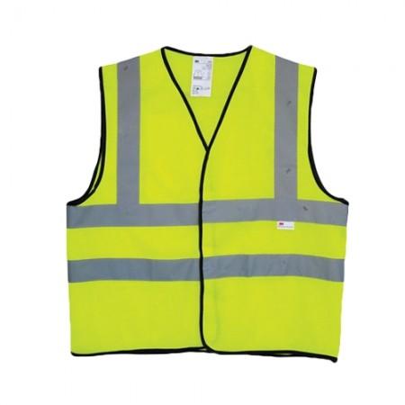 เสื้อจราจรเหลือง แถบสะท้อนแสง 2925,