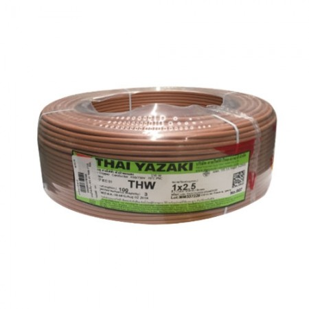 สายไฟเดี่ยว IEC 01 THW 1*2.5 YAZAKI  นต