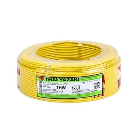 สายไฟเดี่ยว IEC 01 THW 1*2.5 YAZAKI หล