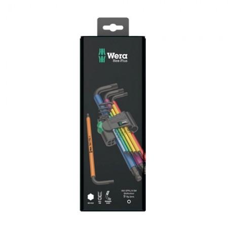 ประแจหกเหลี่ยม 05073593001 9ตัวชุด WERA
